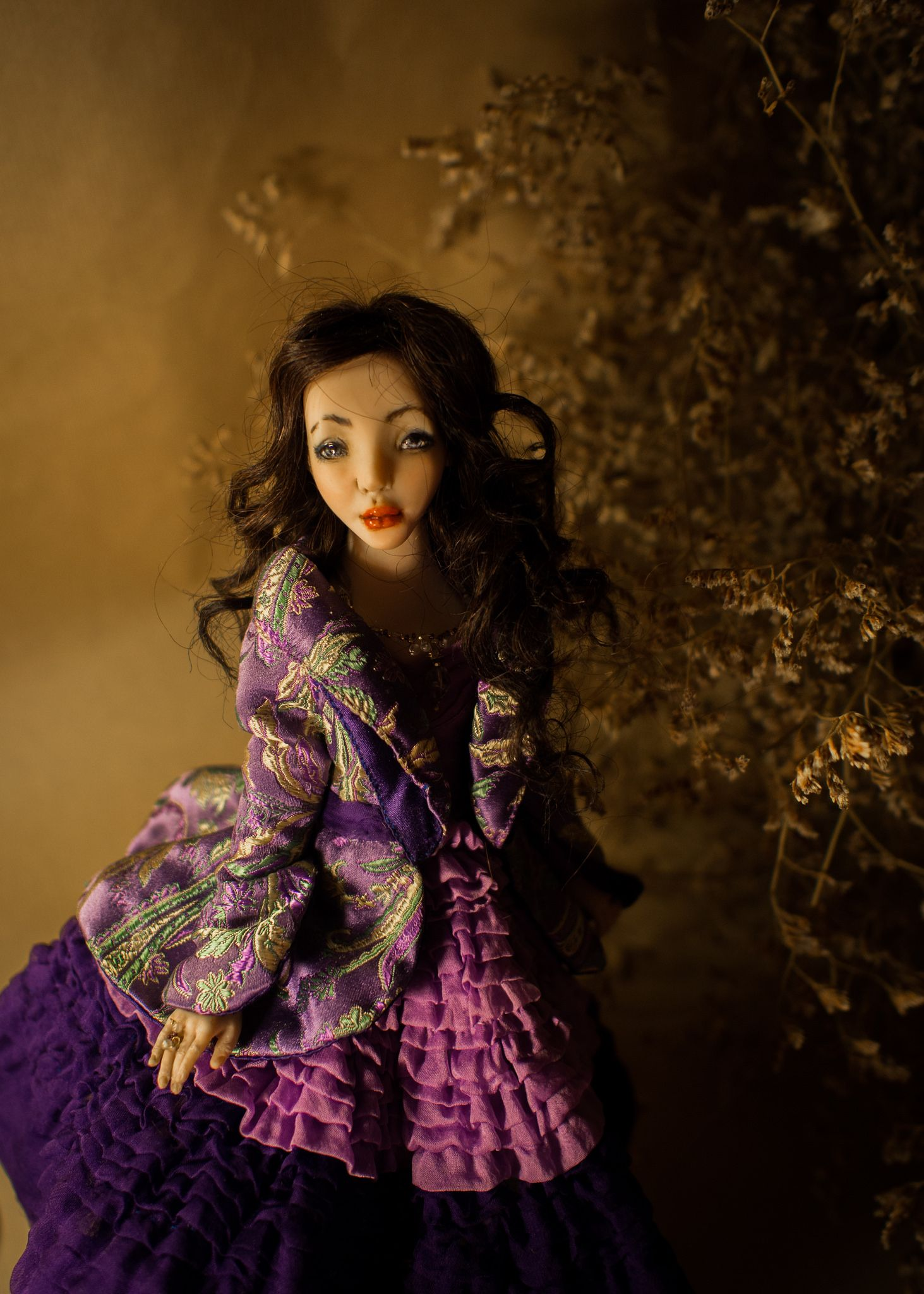 https://flic.kr/p/zsDreA | Romantic Wonders Dolls | Handmade Ooak Doll