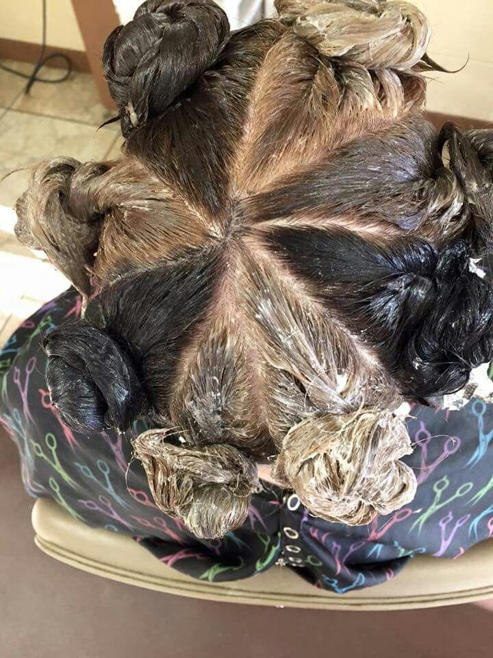 Pin by Terri hair on hairdoo's Pinwheel hair color, Hair