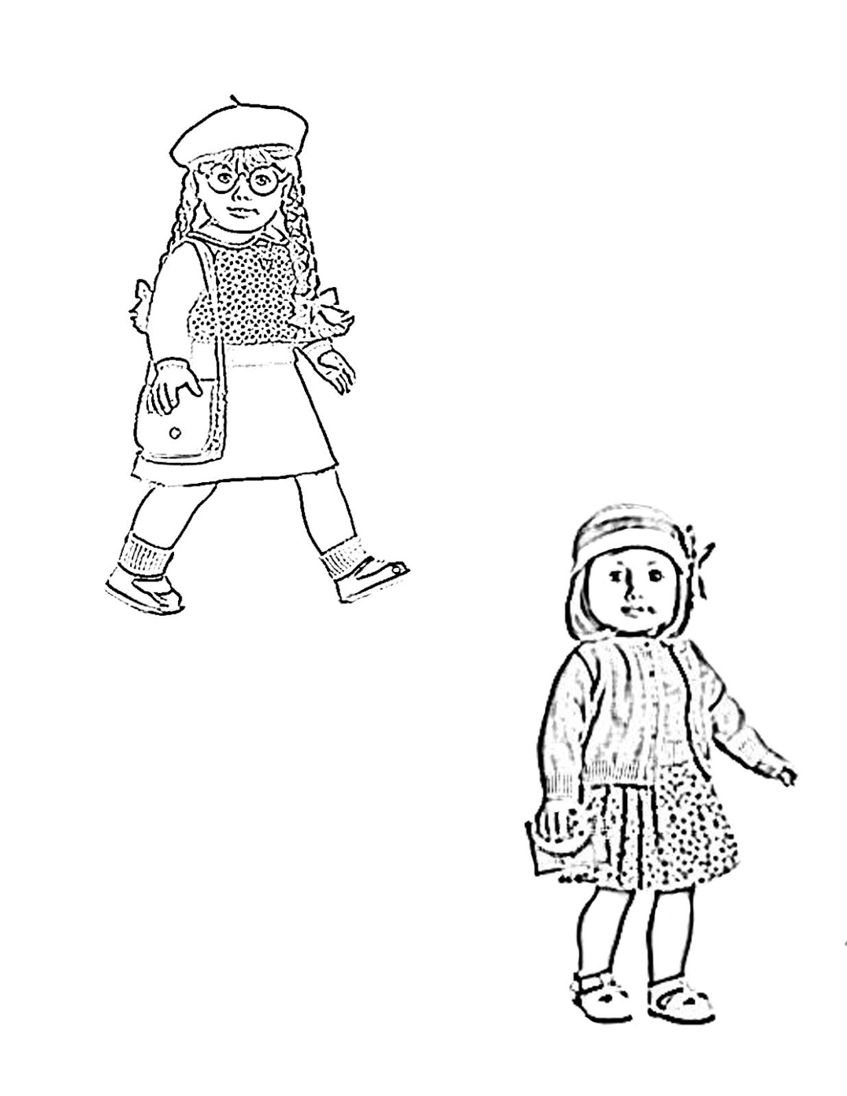 american girl coloring page.jpg 1,236×1,600 pixels | Summer camps ...
