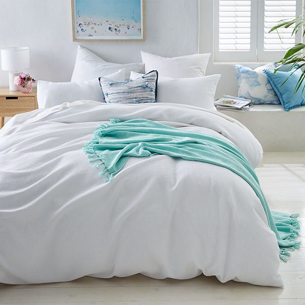 Waffle Quilt Cover Set White Quilt Cover Sets White Quilt Bedding Cotton Quilt Covers