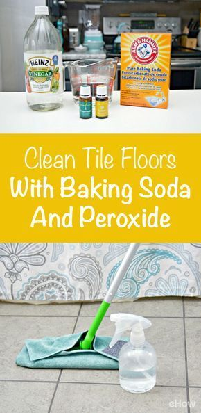 How To Clean Tile Floors With Baking Soda Baking Powder Pop And Grout