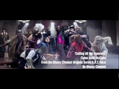 China Anne McClain - 'Calling all the Monsters' Music Video - YouTube