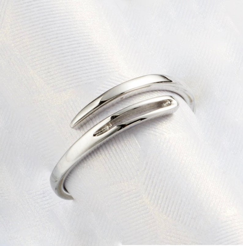 Sterling Silver  Sewing Stitch Ring.