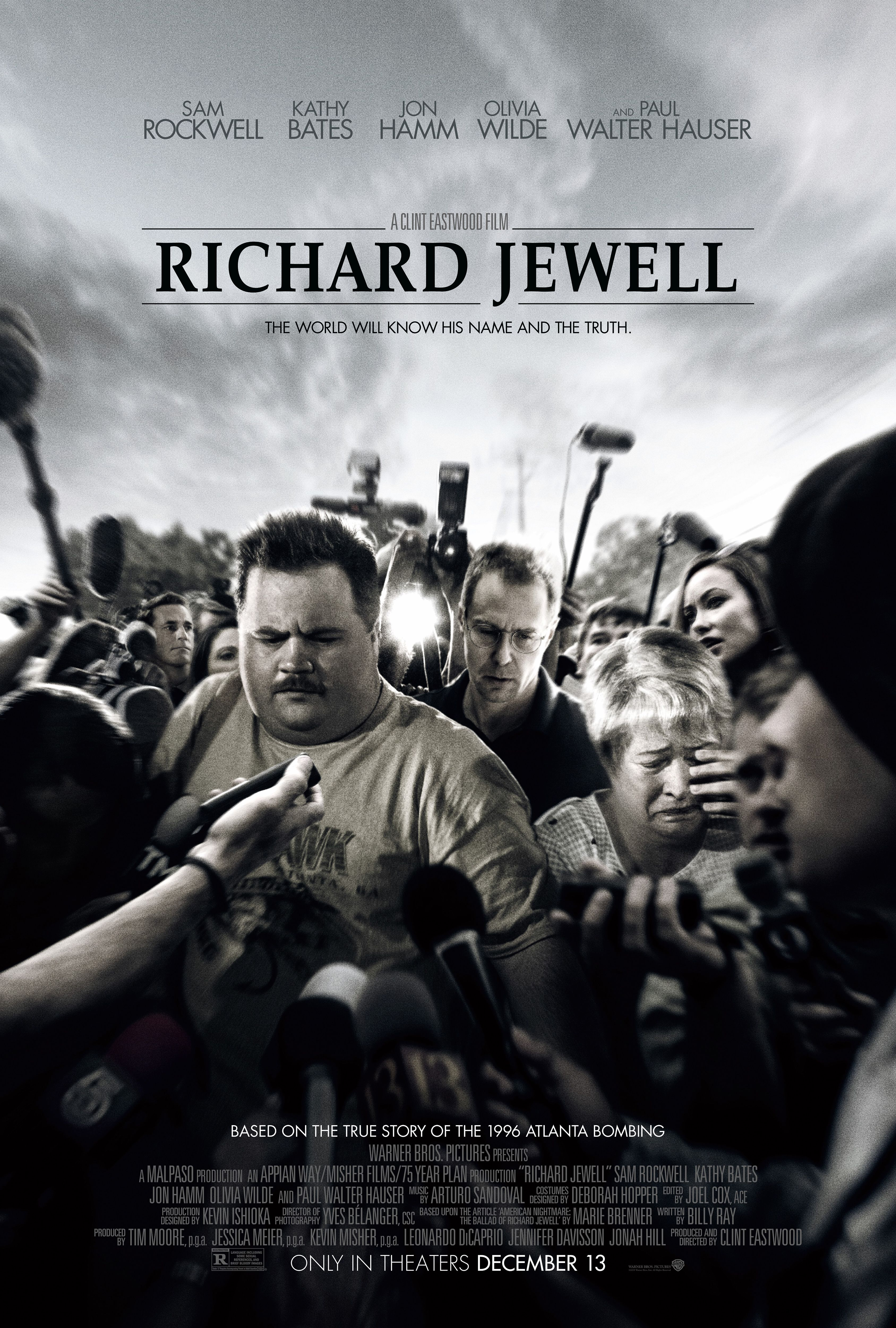 Richard Jewell Movie Poster 2019 Free Movies Online Full Movies Online Free Clint Eastwood