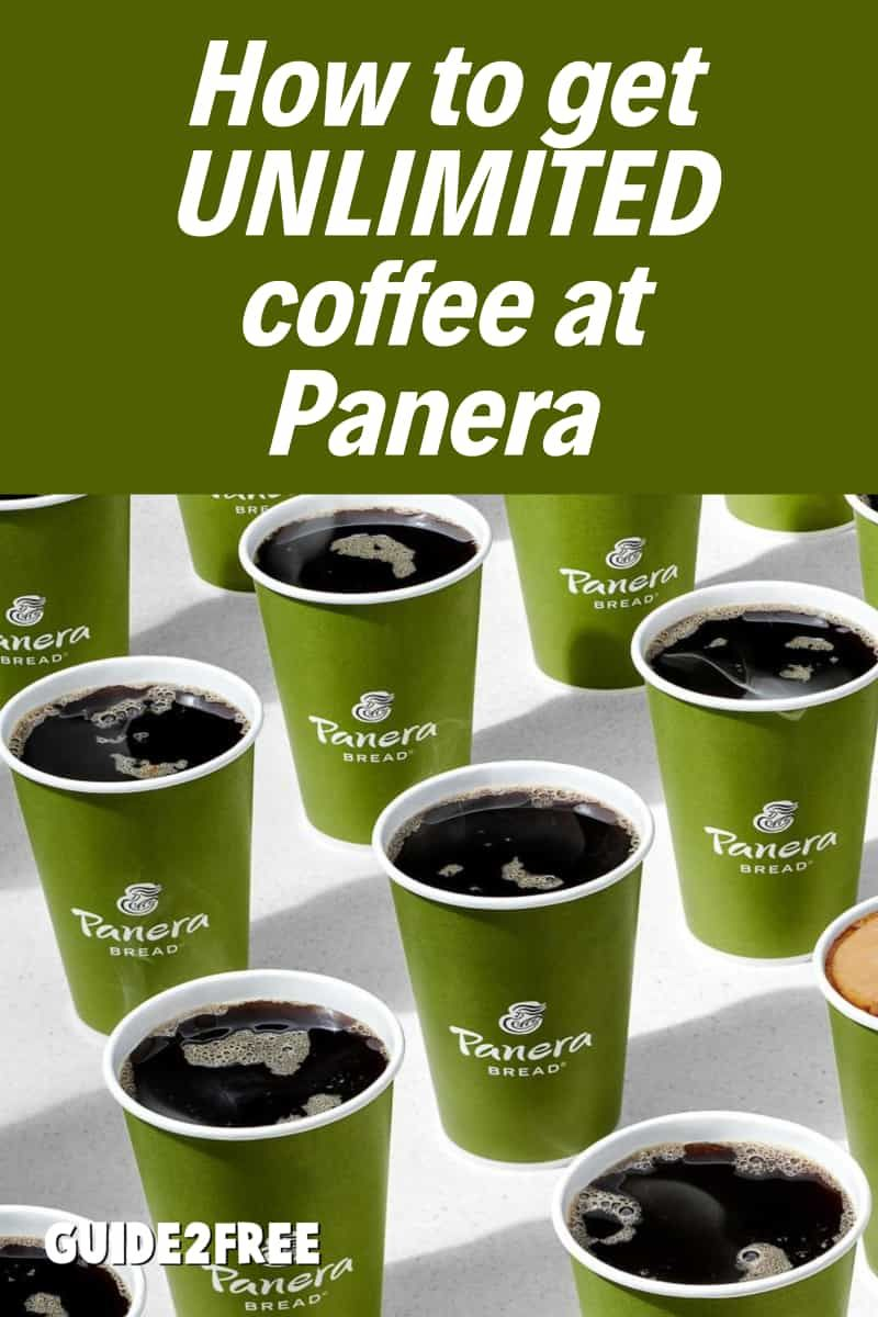 Free unlimited coffee at panera for 4 months with apple