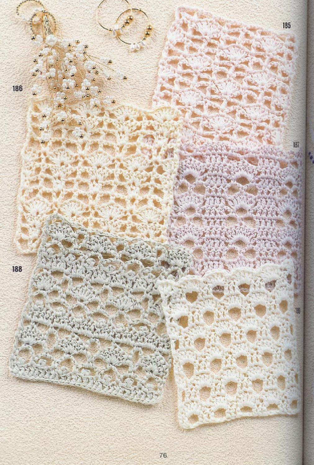 262 patrones crochet   Suéteres y Tejido