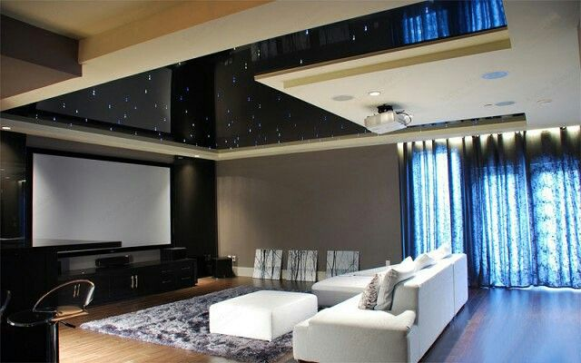 Spanplafond van Plameco in de keuken Spanndecke von Plameco in der - abgehängte decke küche