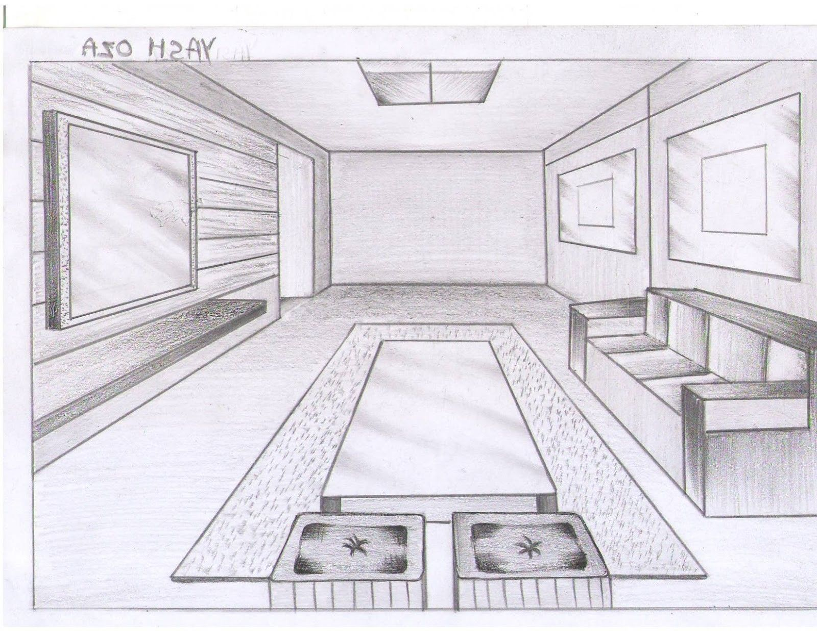 Pin By Verito Ramirez On Tecnicas De Dibujo Room Perspective