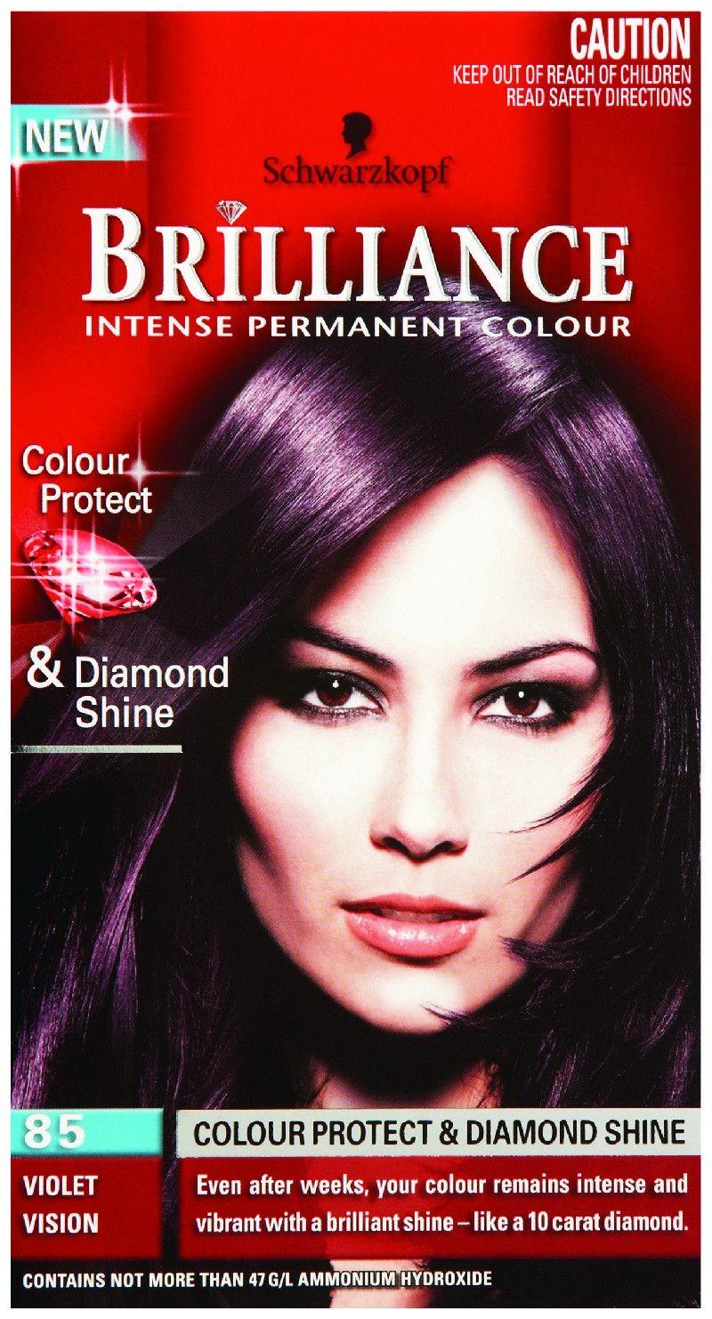 schwarzkopf brilliance hair colour instructions