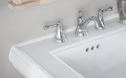 Over time silicone caulk can peel, crack & yellow. Replace caulk around  your sink