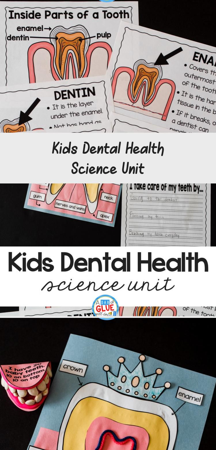 Engage Your Class In An Exciting Hands On Experience Learning All About Teeth This Dental Health Science Unit Is In 2020 Kids Dental Health Dental Kids Dental Health