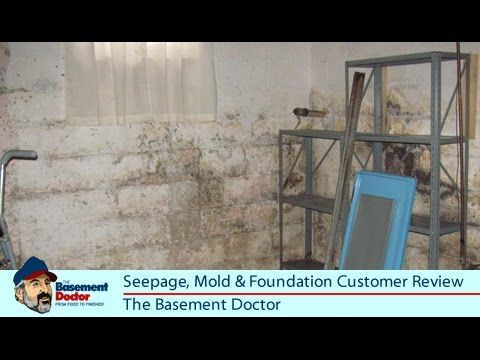 Customer Review Seepage Mold Foundation Repair The Basement Doctor Columbus Ohio In 2020 Foundation Repair Basement Doctor Molding