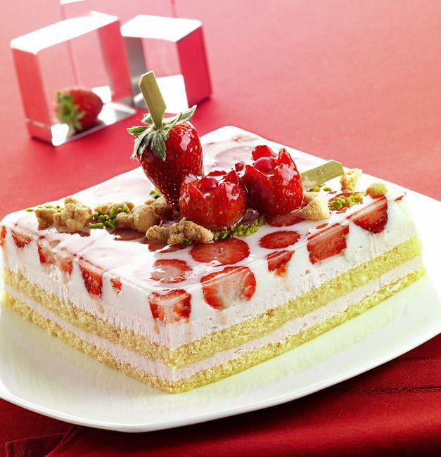 Una torta fresca come un giardino a primavera. E\' la torta ...
