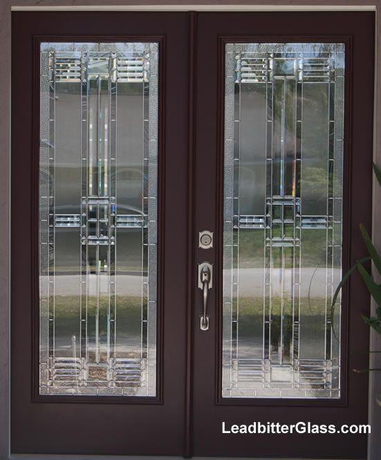 American Beveled Glass Door New Home Doors Beveled Glass Glass