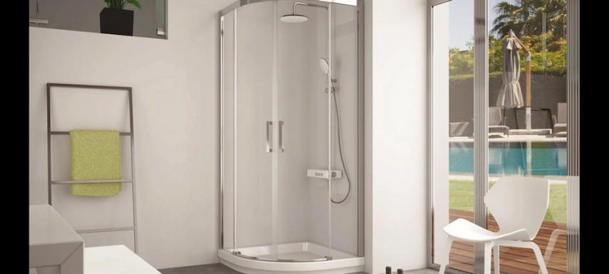 Mamparas de ducha semicirculares, ¡encájalas en tu nuevo ...