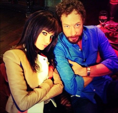 Ksenia Solo and Kris Holden-Ried