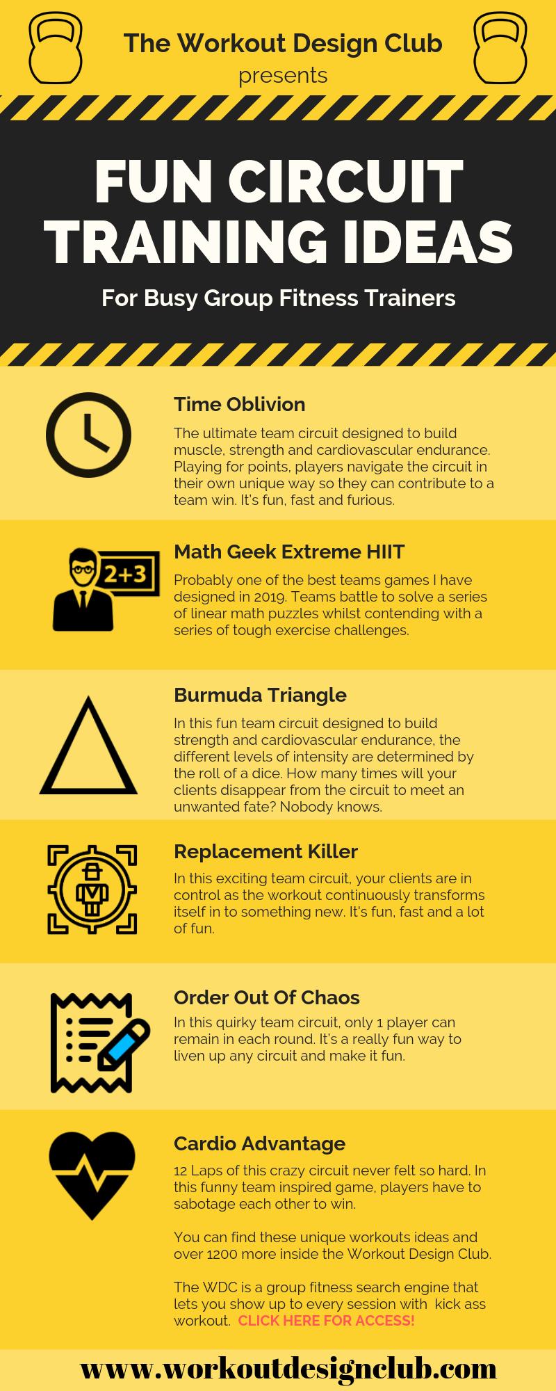 Circuit Training Ideas And Fun Bootcamp
