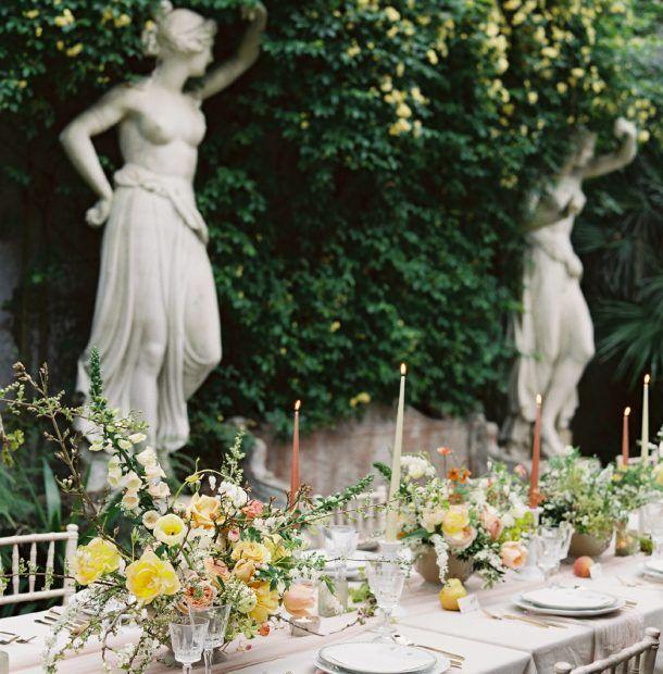 Wedding Flowers Suffolk: Magic & Romance At Somerleyton Hall In