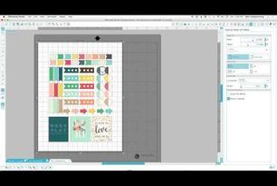 Make your own Stickers | Print and Cut Tutorial