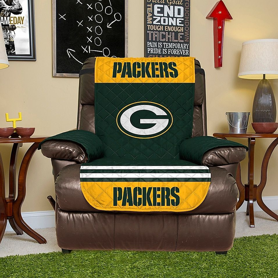 Nfl Green Bay Packers Recliner Cover Bed Bath Beyond Recliner Chair Covers Recliner Cover Recliner Chair
