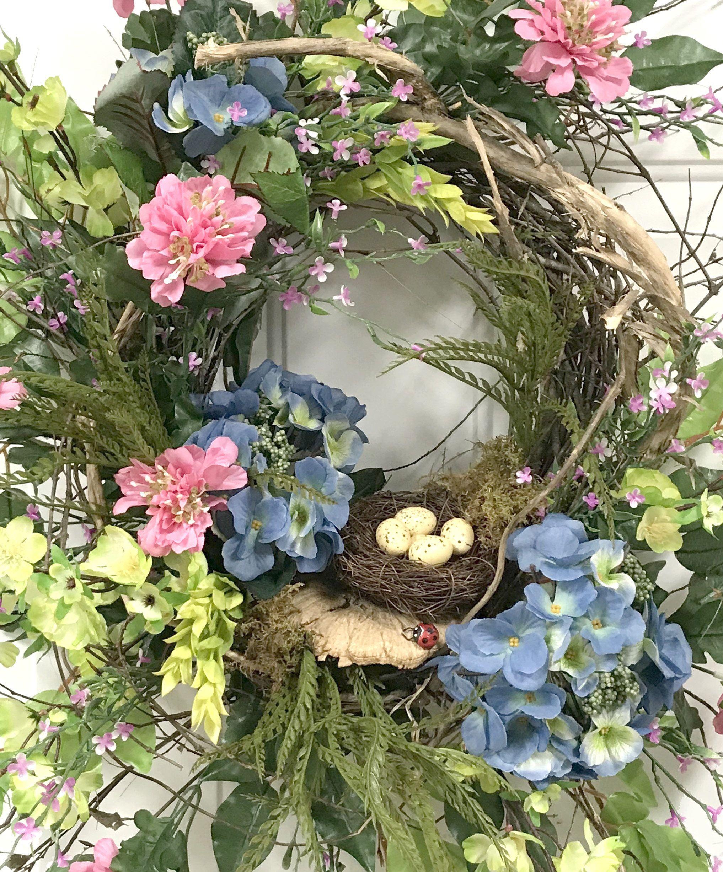 Spring Door Wreaths Easter Front Summer Wreath Doors