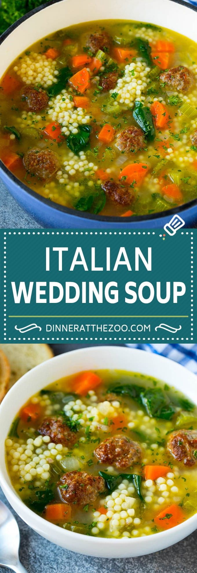 Italian Wedding Soup - Dinner at the Zoo