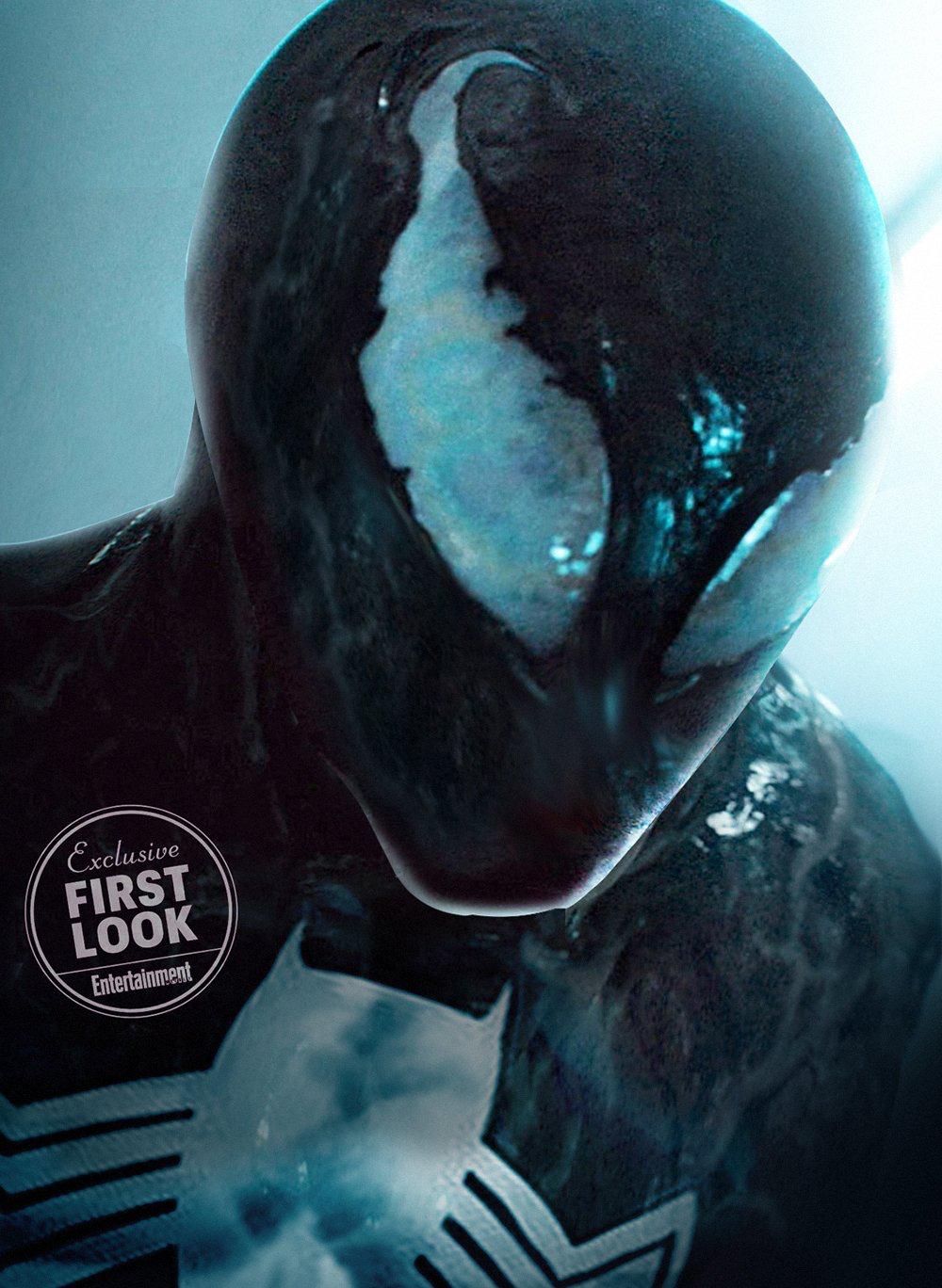 tom holland fan art as venom | watch n read | spiderman, marvel