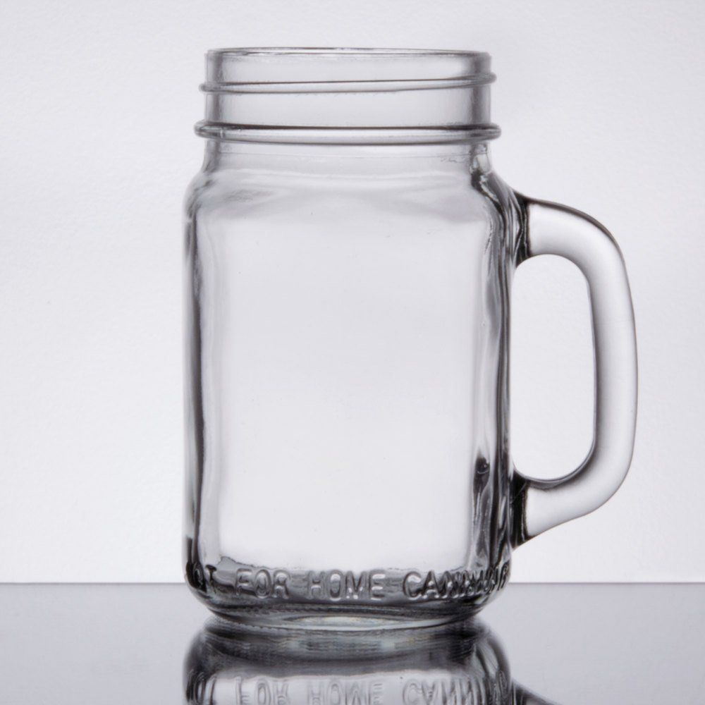 4 Oz Small Mason Jars With Handles Mini Mugs With 48 400 Finish Small Mason Jars Mason Jars With Handles Mini Mason Jars