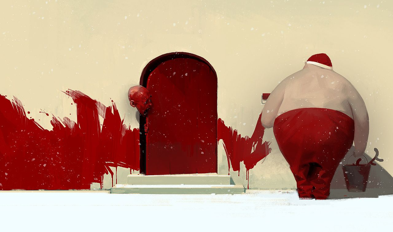 Art by Sergey Kolesov // http://pelengart.blogspot.no/