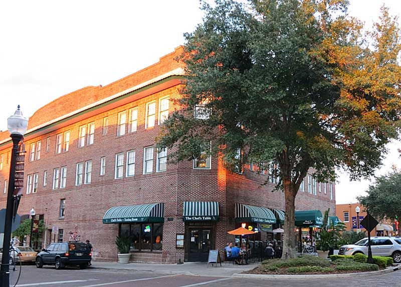 The Historic Edgewater Hotel In Downtown Winter Garden Florida Biking Wintergarden