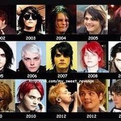 Which Of Gerard S Hair Color Is Your Fav Photo And Video My Chemical Romance Instagram Photo