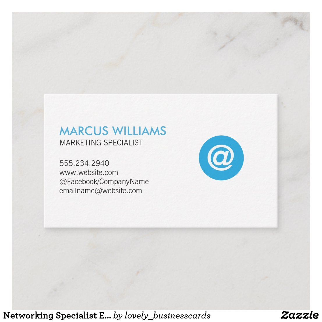 Networking Specialist Email Icon Business Card Zazzle Com Corporate Business Card Design Business Cards Creative Business Card Design Creative