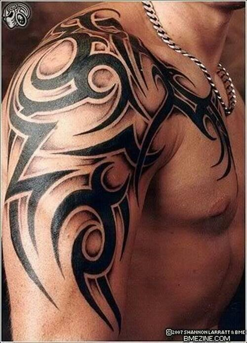 tribal #half #sleeve #tattoo i would skip the shading. | tats