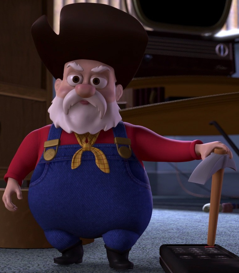 Image result for toy story stinky pete