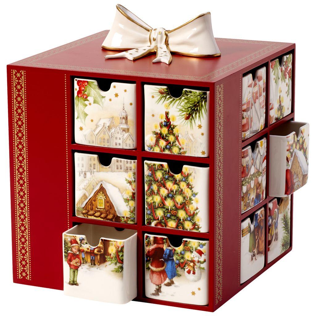 Christmas Toys Memory Villeroy & Boch | Christmas 2016 - Adventskalender kerstmarkt 21x21x22cm