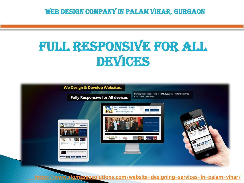 Web Design Services In Palam Vihar Gurgaon Web Design Seo Services Company Web Development Company