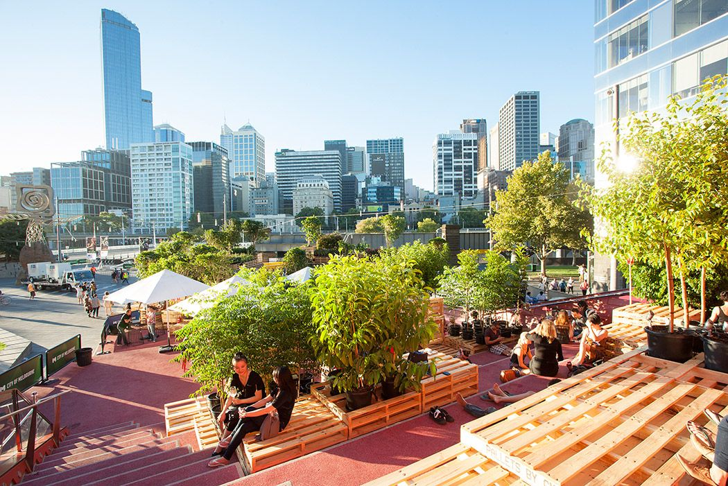 Urban Coffee Farm and Brew Bar- 2013 Melbourne Food and Wine Festival- Melbourne,Australia- Hassell