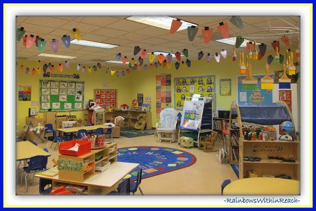 Classroom Organization Ideas For Preschool : Classroom decor the cute conversation