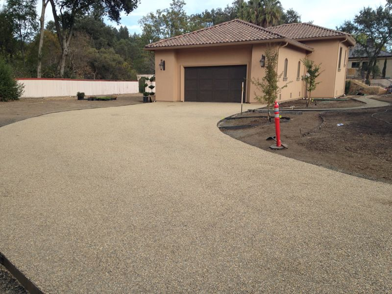 Chip And Seal Driveways Create A Great Natural Flowing Landscape Driveway Landscaping Landscaping Software Landscaping Jobs