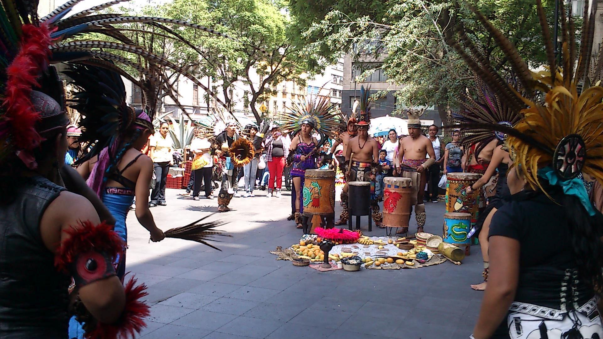 aztec drums