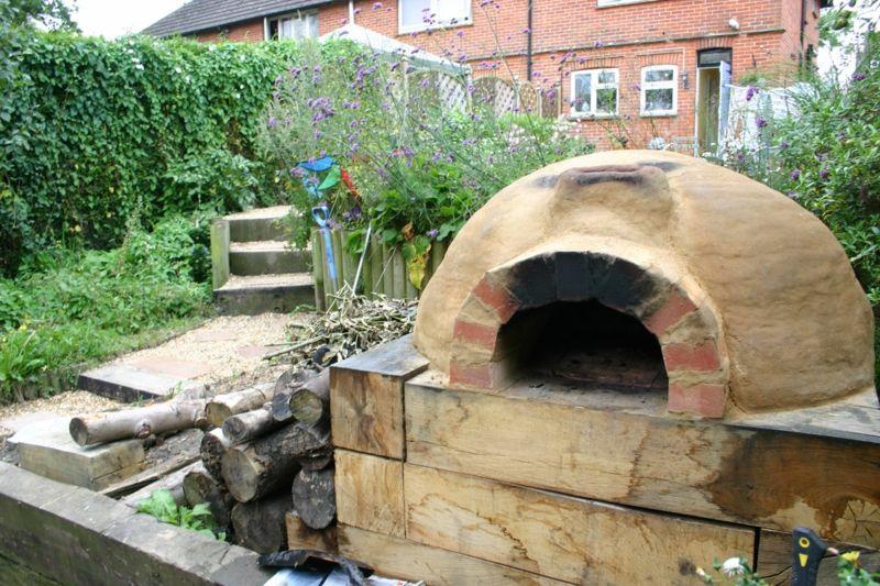 pizzaofen bauen - anleitung und fotos - diy, garten, haus & garten, Gartenbeit