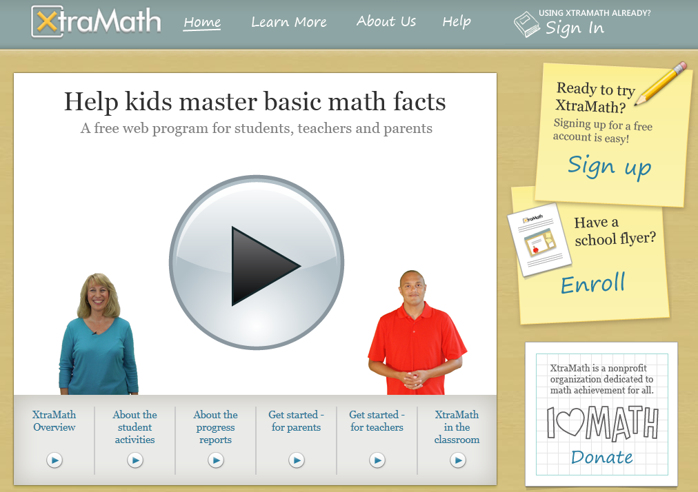 Amazing free website to help kids practice math facts and help ...