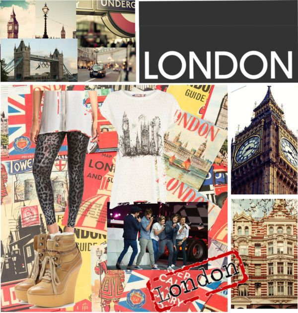 """""""LONDON CALLING"""" by cheri-225 ❤ liked on Polyvore"""