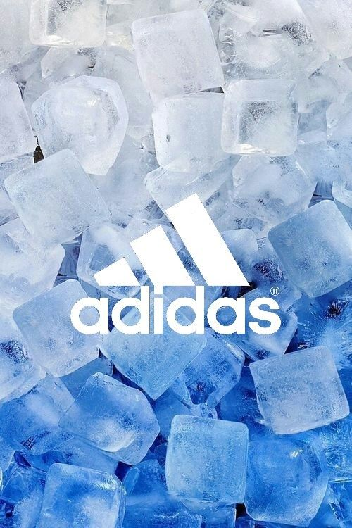 Adidas Wallpaper Made By Helen Gzb Blue Aesthetic Ice