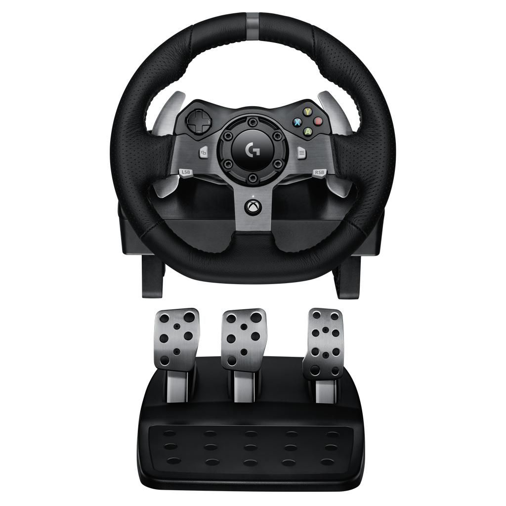 Amazon Com Logitech G920 Driving Force Racing Wheel 941 000121 Computers Accessories Racing Wheel Logitech Xbox Pc