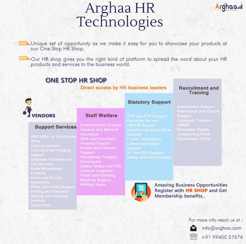 Opportunity For Vendors To Meet TopNotch Business Leaders  Hr