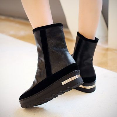 ENMAYER-Mid-Calf-new-2015-HOT-Round-Toe-British-style-PU-Martin-boots-for-women-platform