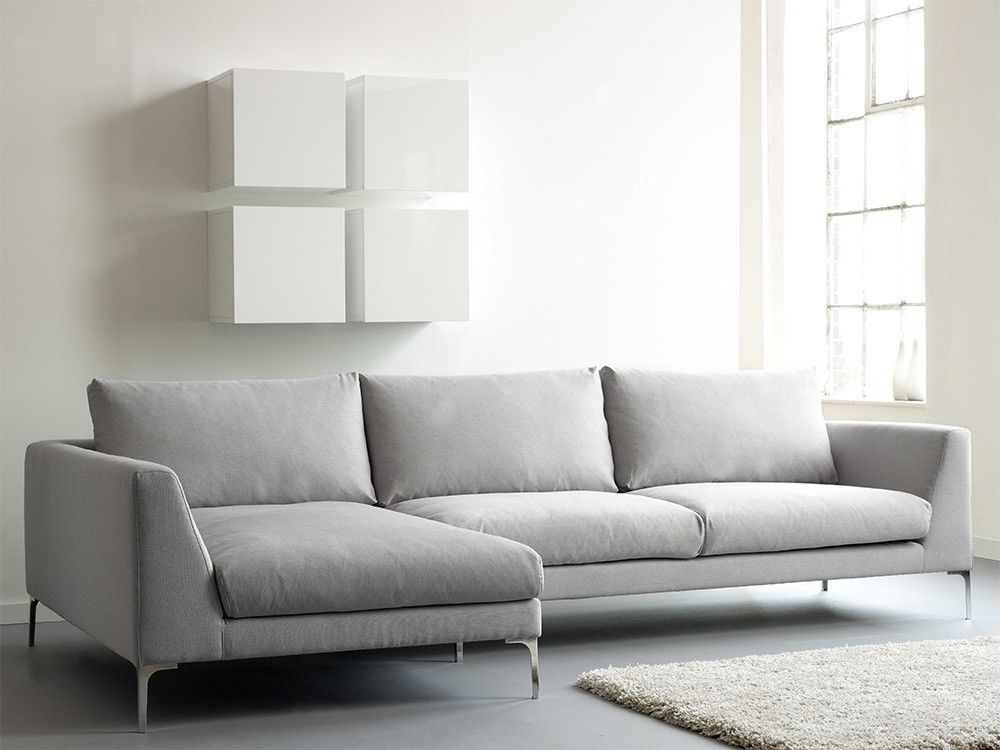 Stylish Corner Sofa With Chaise Longue