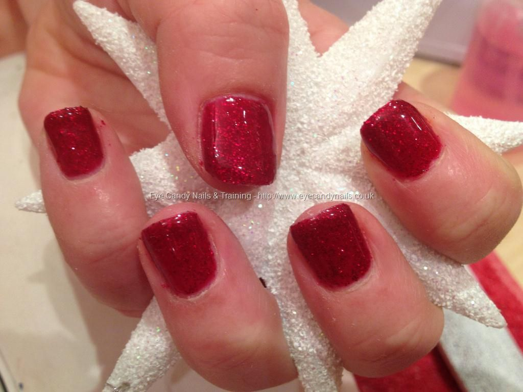 red glitter gel polish | nails nd hair | pinterest | glitter gel