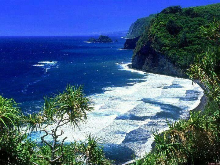 Pololu Valley Beach, Hawaii